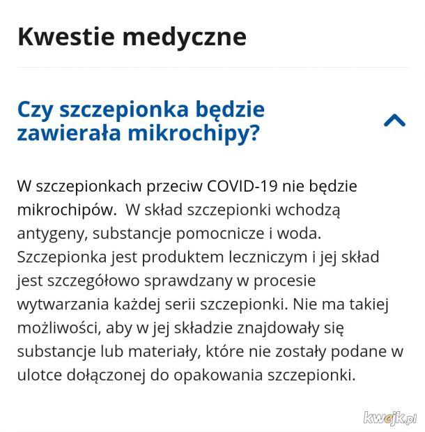 Dziwne czasy. Rząd zapewnia o braku mikroczipów. Niestety nie piszą nic o ludzkich płodach.