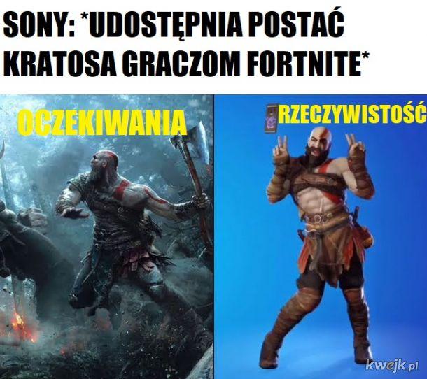 Kratos w fortnite