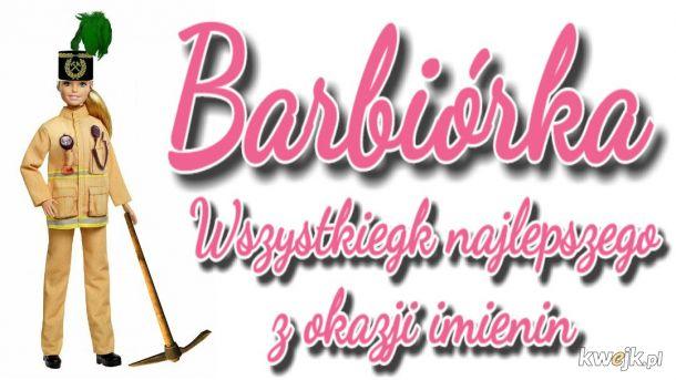 Barbie też dziś świętuje \(ϋ)/