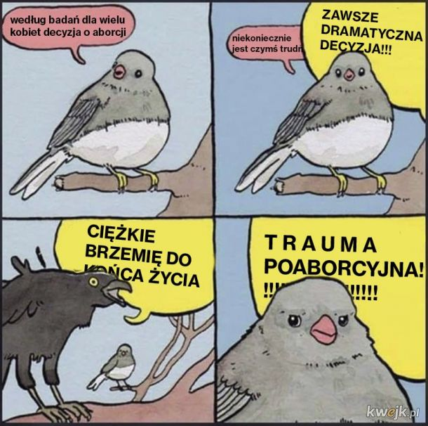 Kiedy próbujesz rozmawiać w Polsce o aborcji.