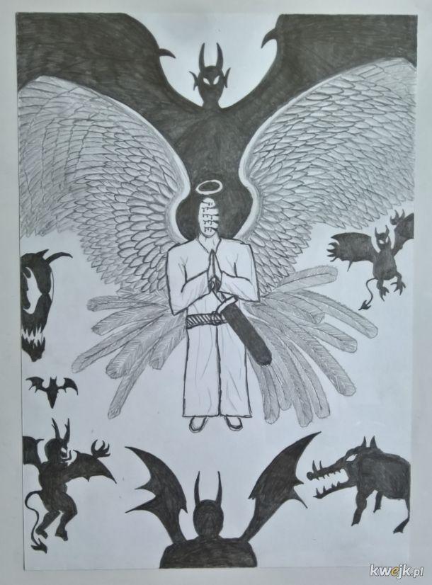 Bohomaz - Anioł Stróż