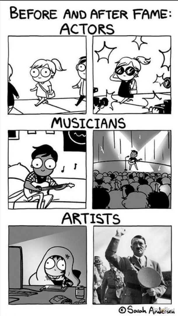 Gdy jesteś sławny to tak bywa