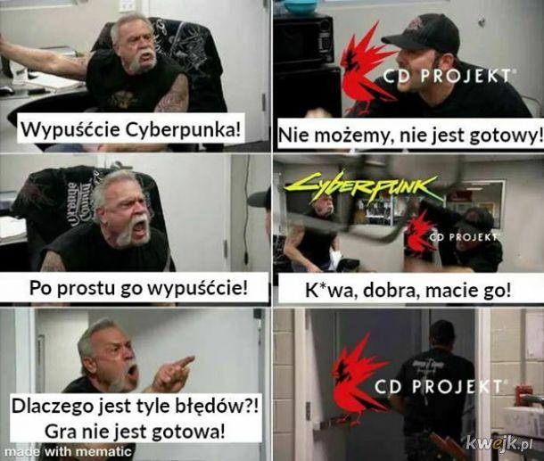 Premiera Cyberpunka