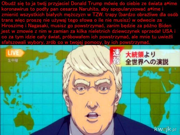 Donald nas potrzebuje
