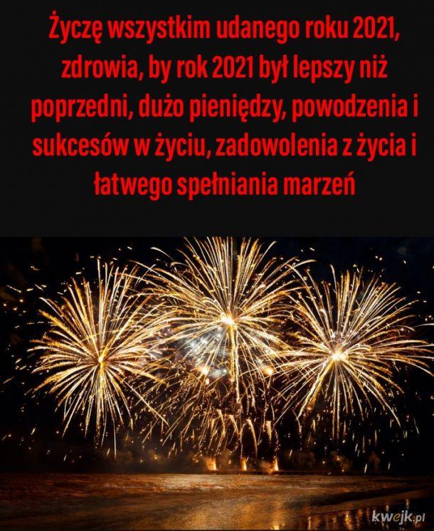 Szczęśliwego roku 2021
