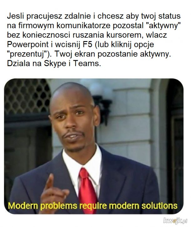 Powerpoint saves the day