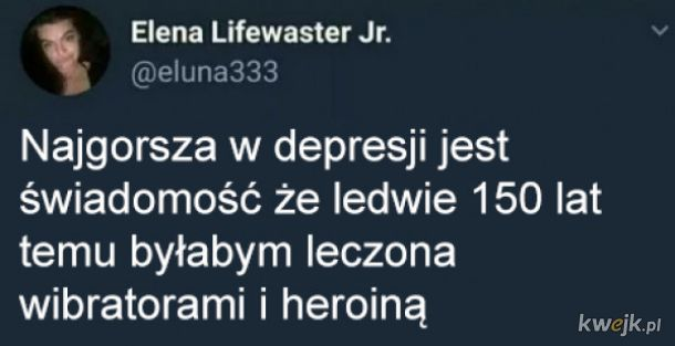 Najgorsze w depresji