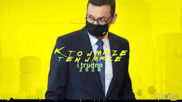 Cyberpunk Morawiecki