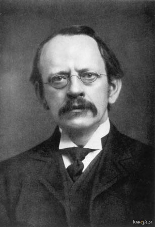 Dziś mija 164. rocznica urodzin J. J. Thomsona, odkrywcy elektronu