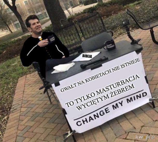 W takich czasach żyjemy że niektórzy księża są na poziomie tego mema