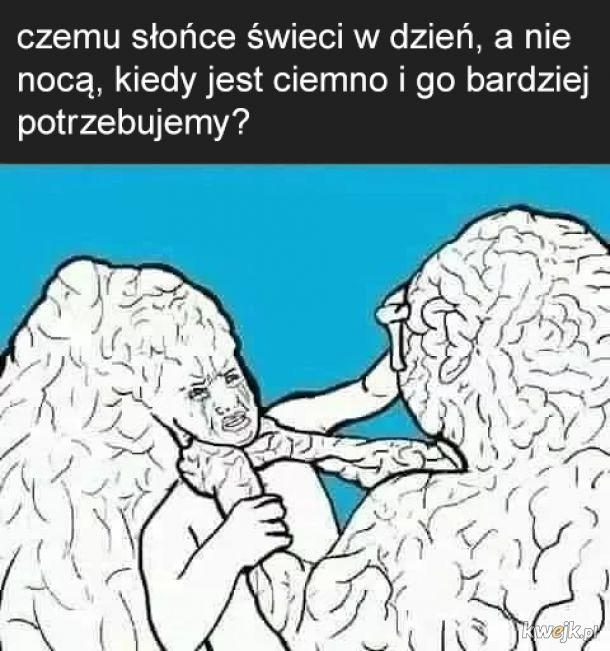 Mózgu przestań błagam