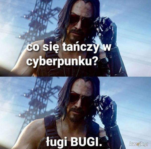 Taniec w Cyberpunku