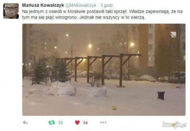 Dziwny sprzęt w Moskwie