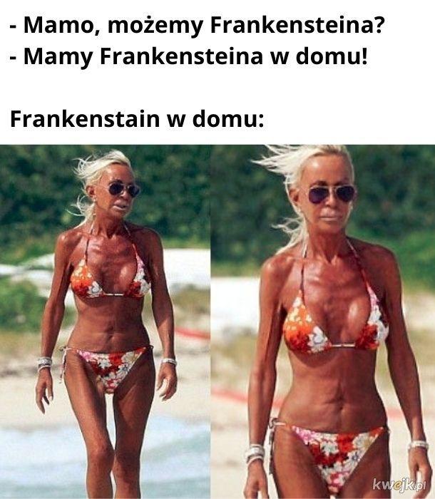 Frankenstein to był doktor, który stworzył potwora. Potwór to był po prostu potwór.