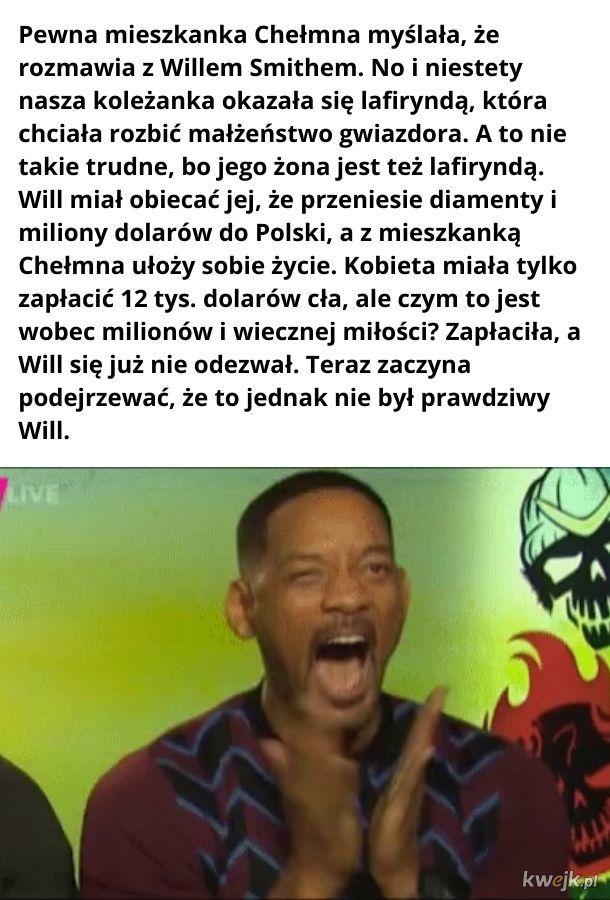 Will Smith oszukał mieszkankę Chełmna