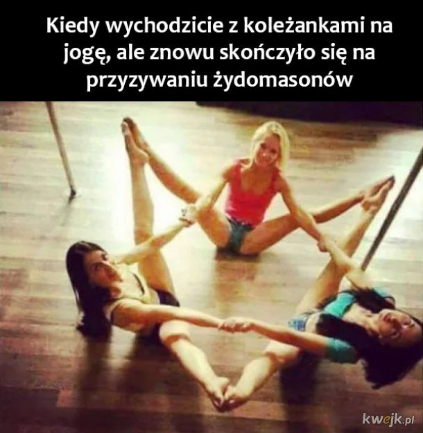 Joga z koleżankami