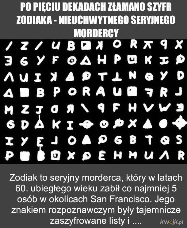 Tajemnica Szyfru Zodiaka rozwiązana!