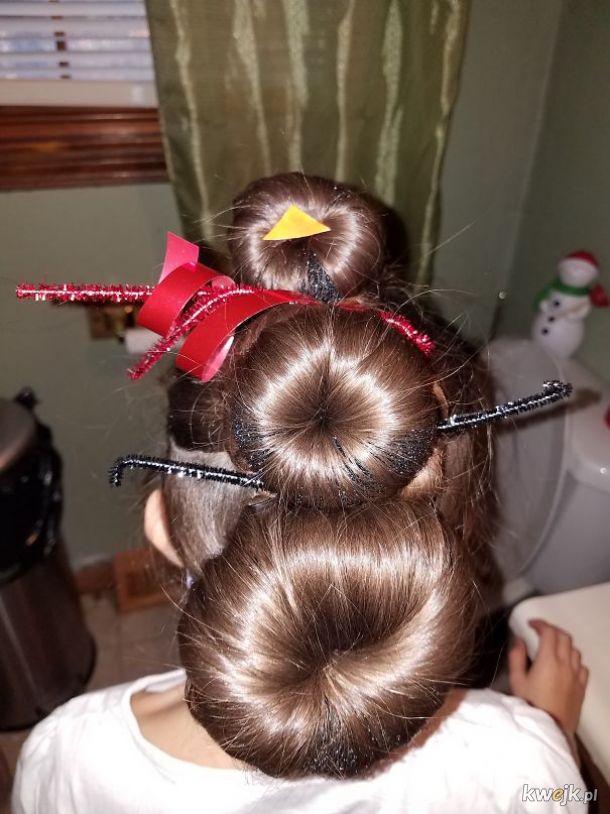 Świąteczne fryzury, które chcesz, ale które pewnie Ci nie wyjdą