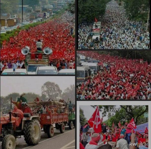 200 mln robotników strajkuje w Indiach