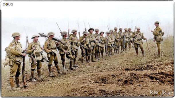 Pokolorowane zdjęcia z pól walk pierwszej wojny światowej, obrazek 8