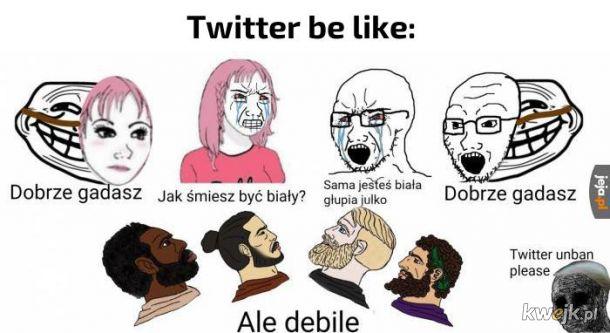 Twitter taki jest