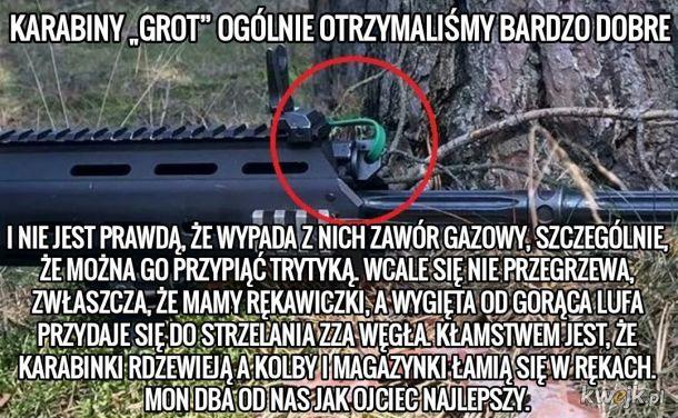 TRYTYT GUN. Cudowna broń, do której nie dorośli polscy żołnierze!