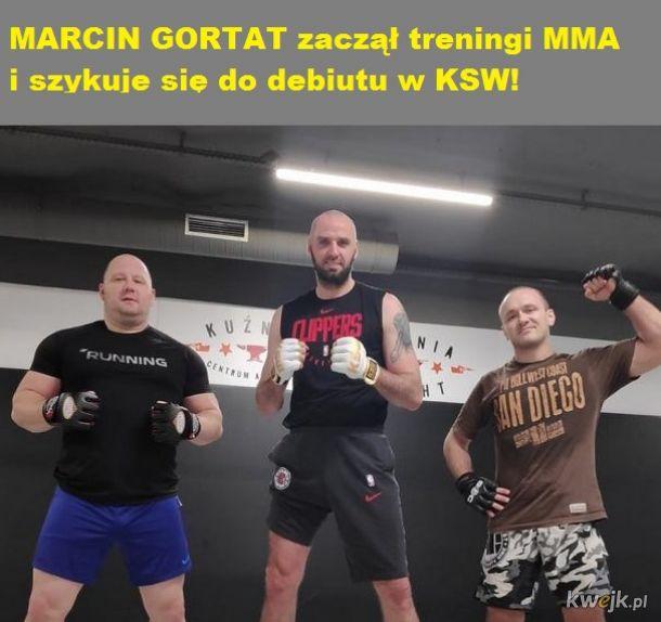 Najlepszy i najpopularniejszy polski koszykarz MARCIN GORTAT zaczął treningi MMA!
