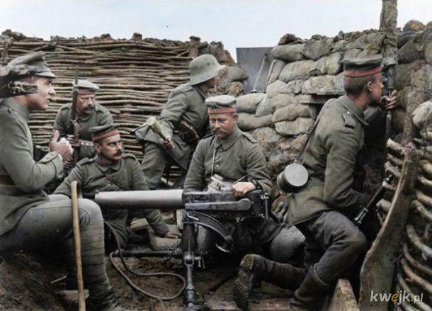 Pokolorowane zdjęcia z pól walk pierwszej wojny światowej, obrazek 16