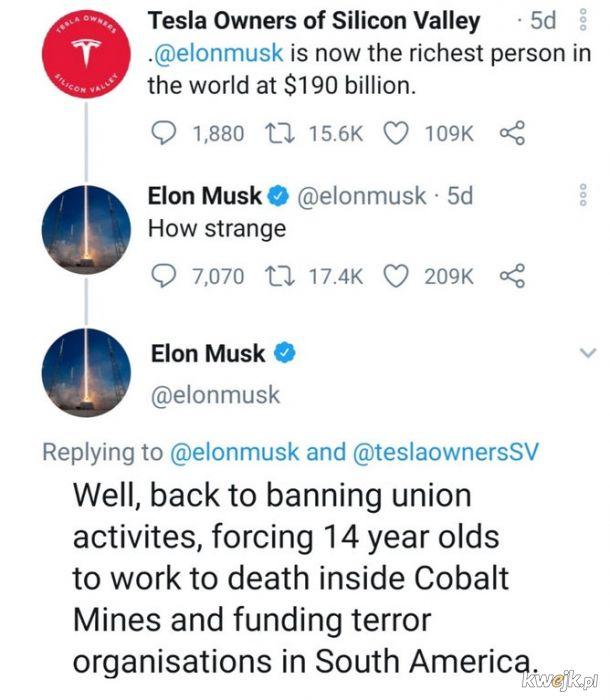 Dzięki Elon