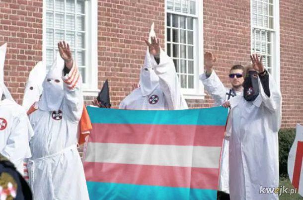 Brawa dla tych panów za walkę o prawa osób trans!