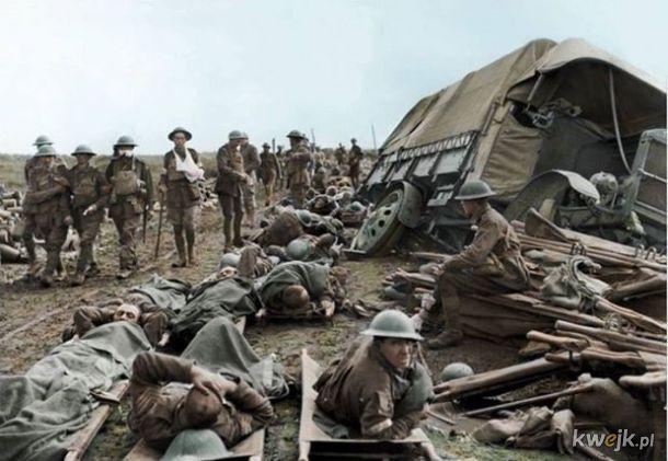 Pokolorowane zdjęcia z pól walk pierwszej wojny światowej, obrazek 14