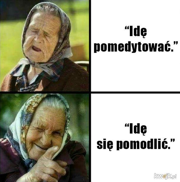 babcia wie co dobre