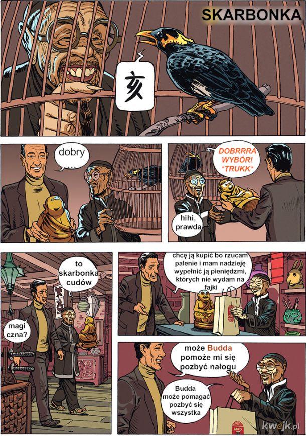 MAD IN CHINA - czyli komiks o Skarbonce Buddy i chińskim sklepie