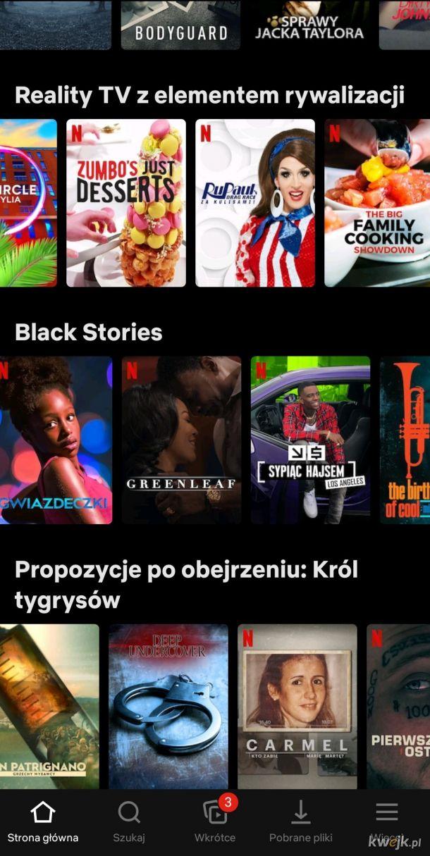 Segregacja rasowa na Netflixie