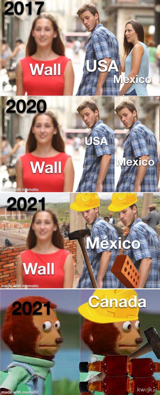 Trump miał racje będzie mur na granicy z Meksykiem i Meksyk za niego zapłaci