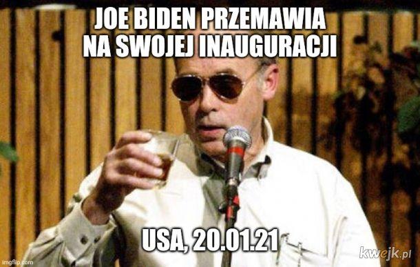 Zawsze miał łeb do polityki.