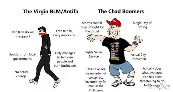 BLM i Antifa to pseudo-libki