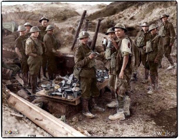 Pokolorowane zdjęcia z pól walk pierwszej wojny światowej, obrazek 12
