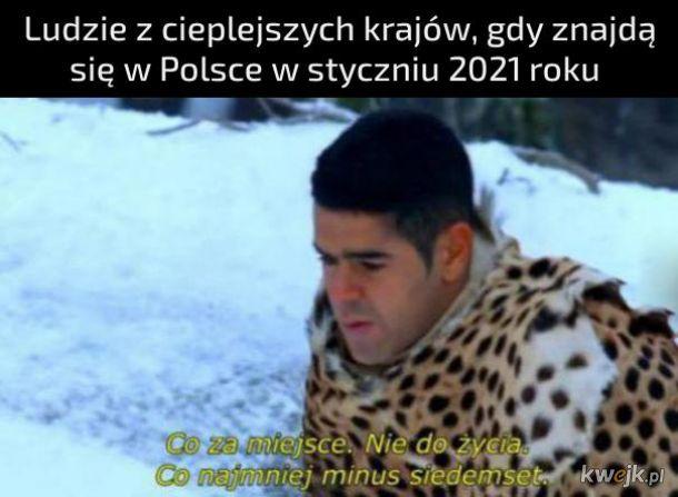 Polska w styczniu