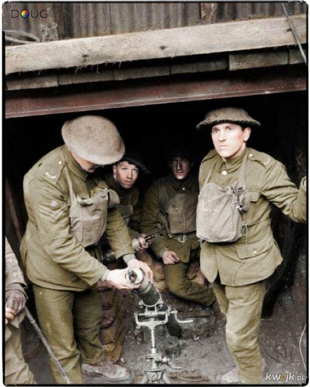 Pokolorowane zdjęcia z pól walk pierwszej wojny światowej, obrazek 9