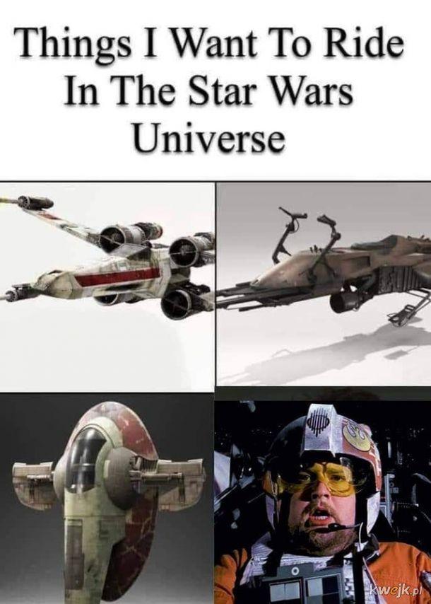 Każdy prawdziwy fan Gwiezdnych Wojen chciałby