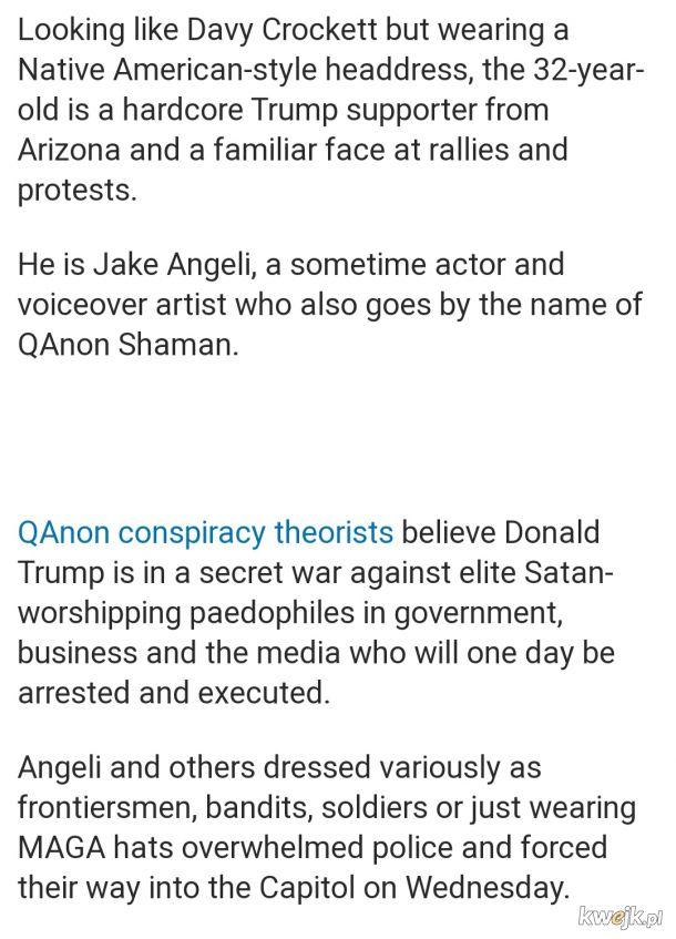 """Do wszystkich piszących """"Człowiek Bizon to amerykański Hadacz albo członek Antify"""""""