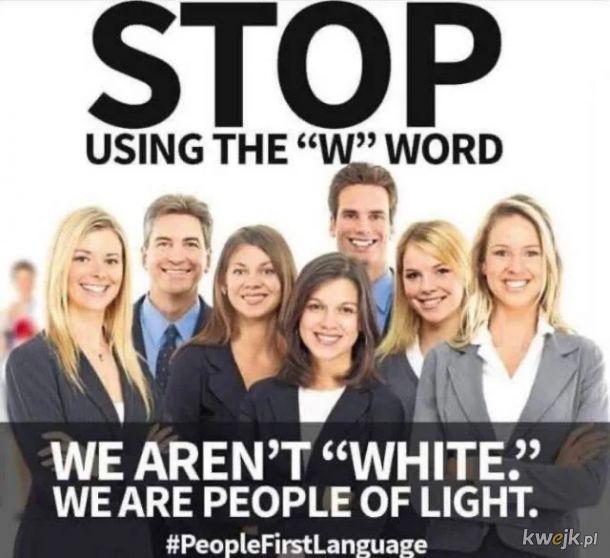 Jesteśmy ludźmi światła.