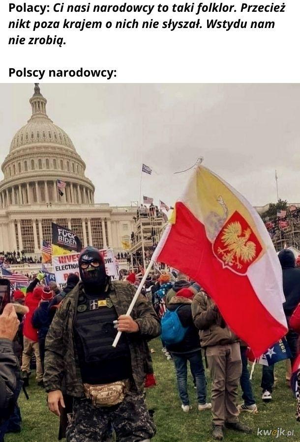 Czemu ta flaga jest osikana