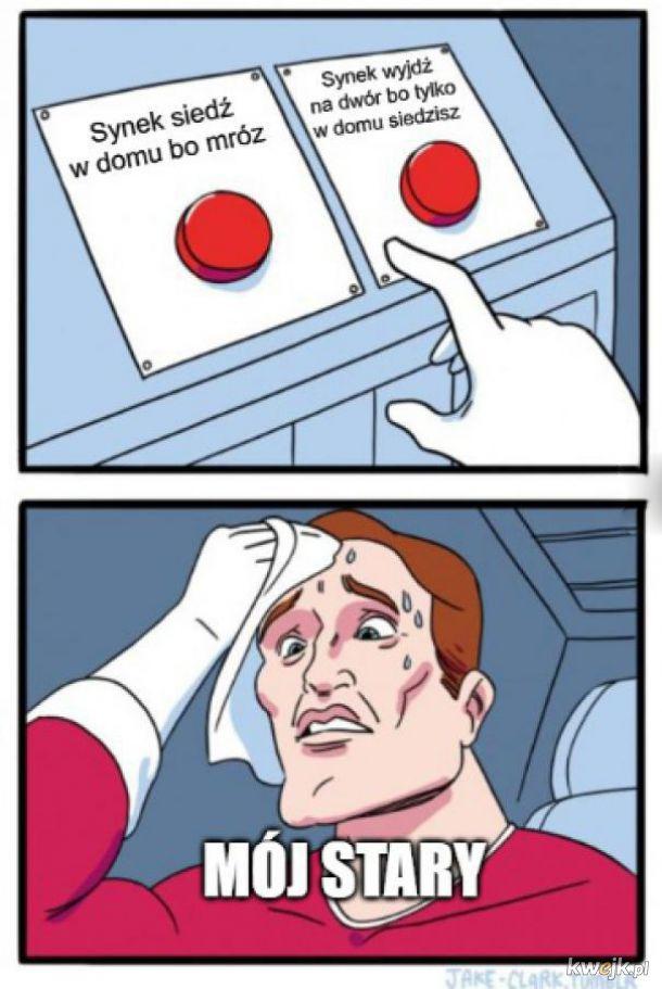 Nie można się zdecydować