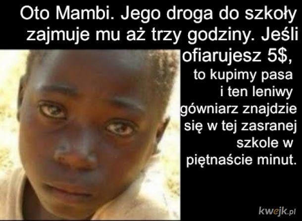 Szkoła i problemy w afryce
