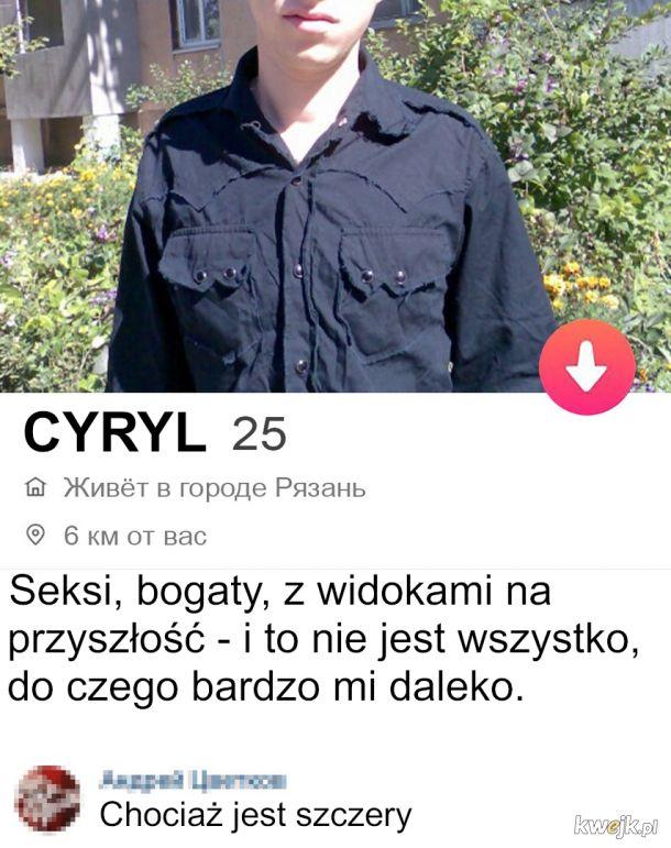 Cyryl z rosyjskiego tindera
