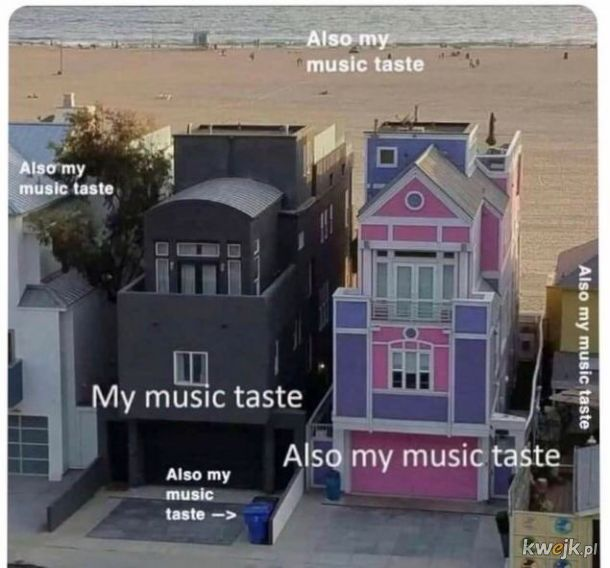 Ten tytuł, to też mój gust muzyczny