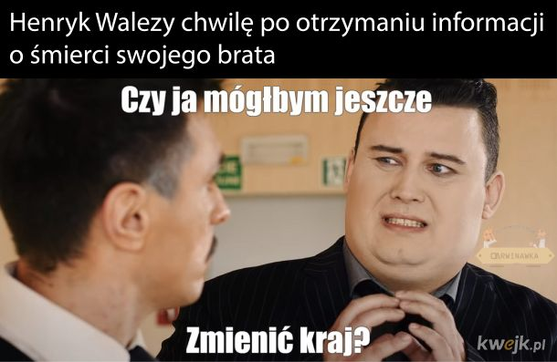 Ja tak tylko żartowałem z tym królem Polski