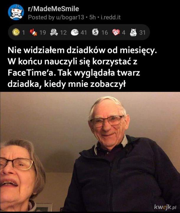 FaceTime z dziadkami